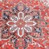 Persian heriz medallion carpet