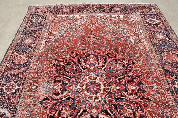 Antique Heriz Rug Iran