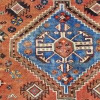 Signed Shiraz Tribal Rug