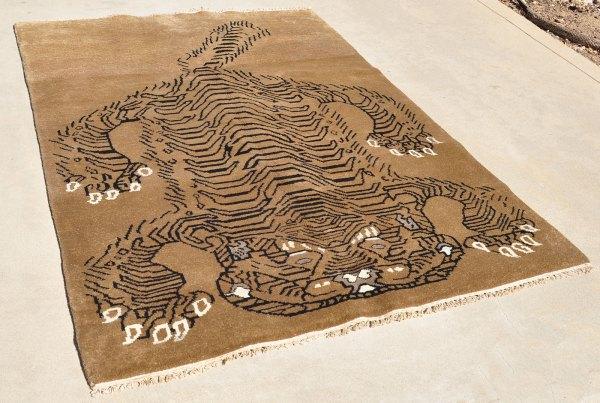 Handmade Nepal Tibet Rug