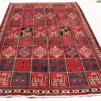 Ram Garden motif Iran rug
