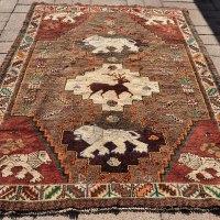 Lions Persian Rug Iran