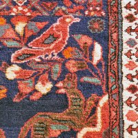 Iran -- Green dogs rug