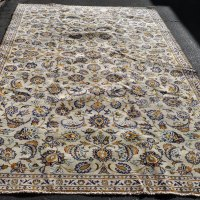 Kashan Carpet Mint Green Iran