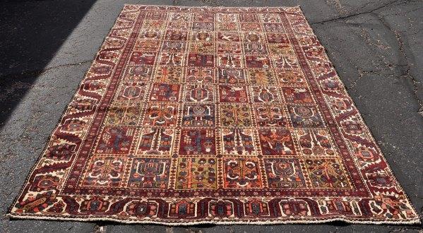 Iran Carpet Garden Dog