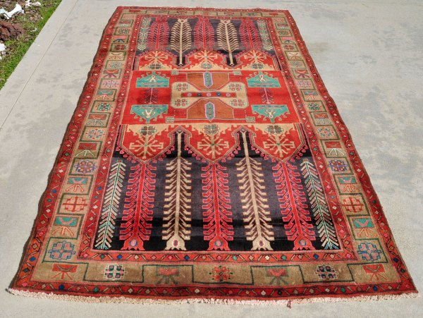 Iran Kurdish carpet