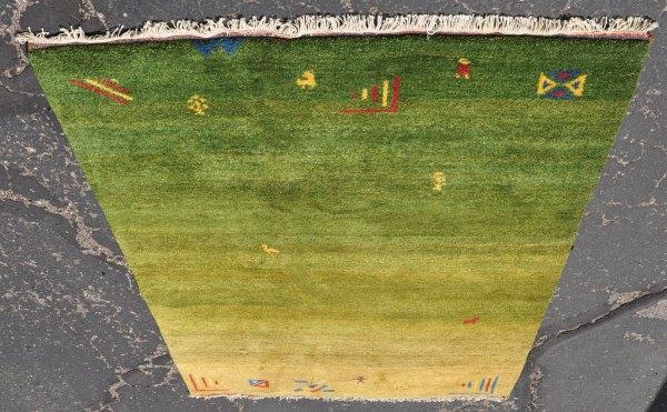 Indian midcentury rug