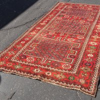 Qashqai Iran Shield Motif Carpet
