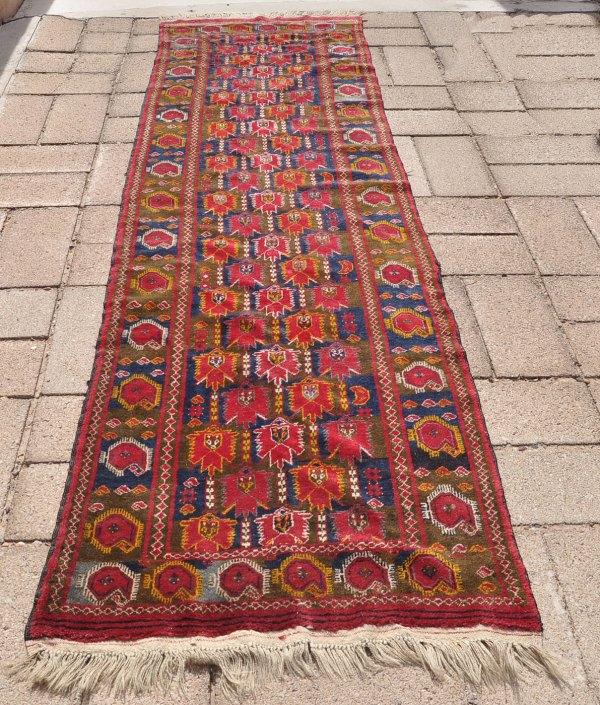 Turkoman tribal rug