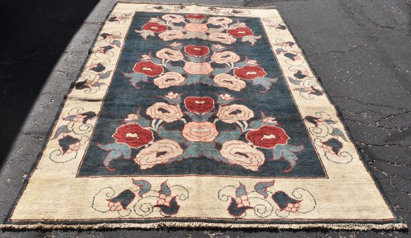 gol farang floral village rug