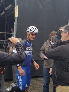 Tom Boonen au départ du Tour de l'Eurométropole 2016. Photo perso