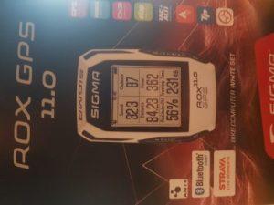 compteur vélo GPS Sigma Rox 11.0