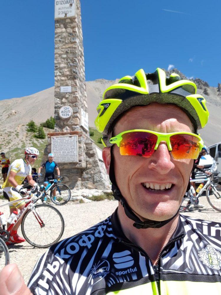 Etape du Tour 2017 - Heureux au sommet de l'Izoard !