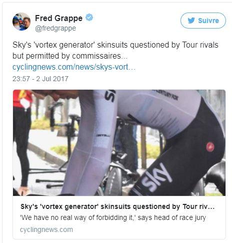 Prologue Tour de France 2017 - Fred Grappe - analyse du Vortex SKY
