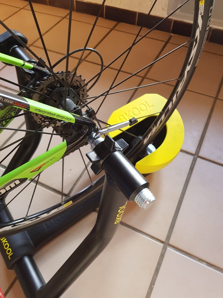 dingue de vélo - Home trainer connecté kool Pro 2