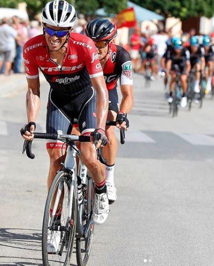 Dingue de vélo - grimper en danseuse façon Alberto Contador - photo Instagram Alberto Contador