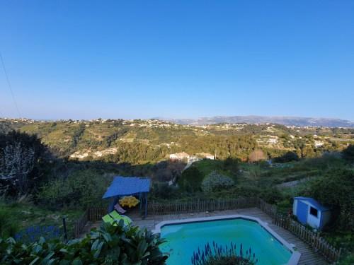 La vue des collines de Nice !