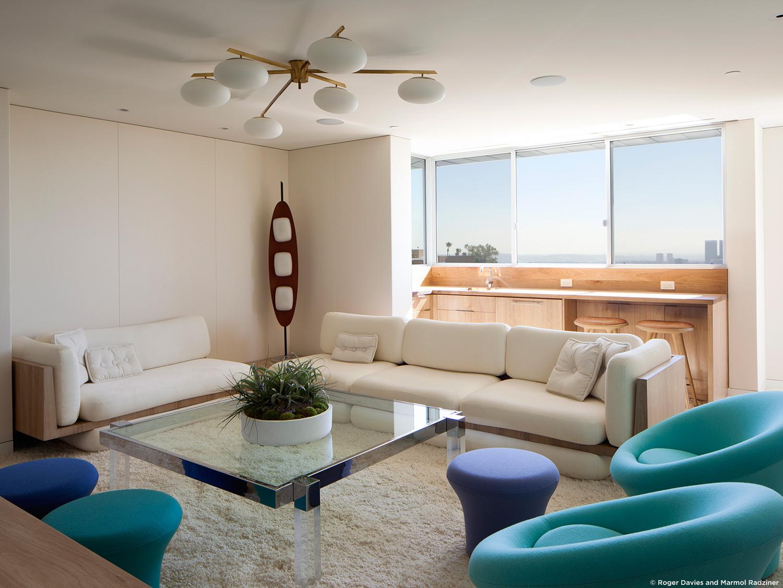 10 Beautiful Living Room Design By Marmol Radziner