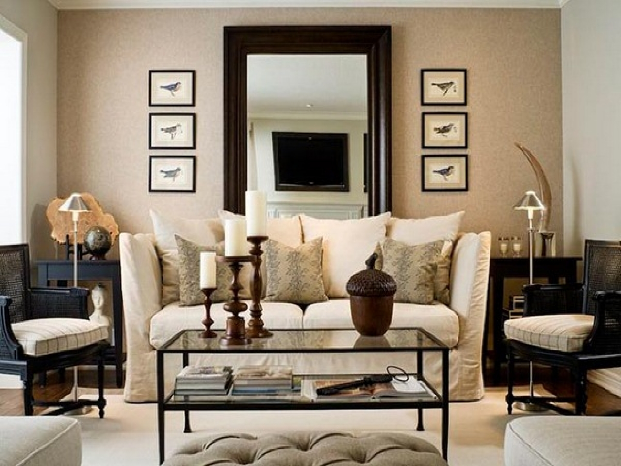 Stunning Wall Mirror Designs for your Living Room Decor on Wall Decor For Living Room  id=15547