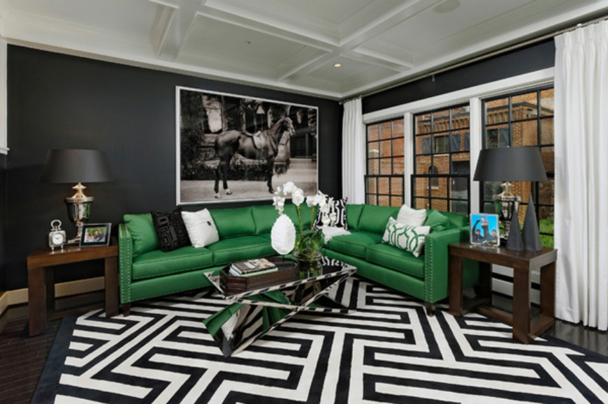 Trends 2019 The Best Green Sofas For Your Living Room