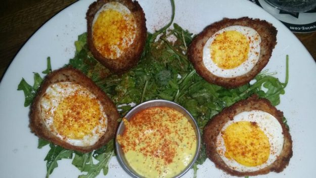 Red Cow 50th Street Minneapolis Restaurant Review Scotch Eggs Appetizer