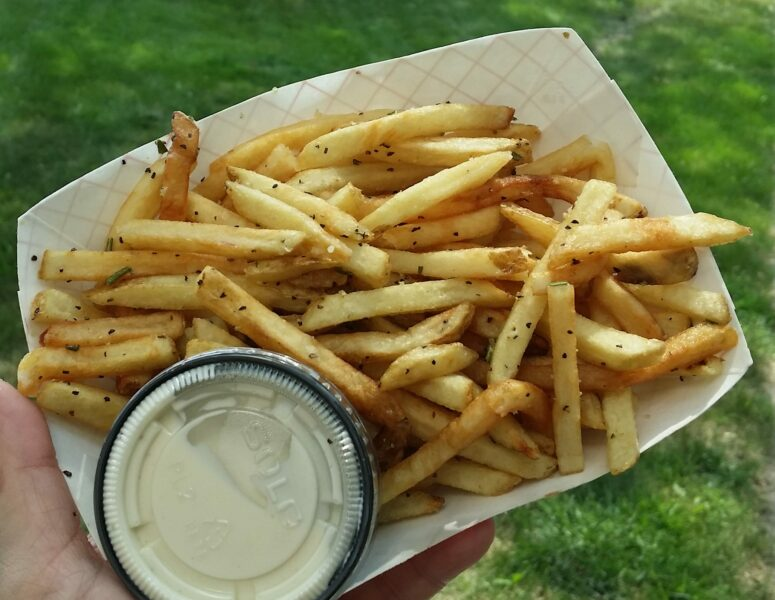 Lola Food Truck Rosemary Fries with Lemon Aioli