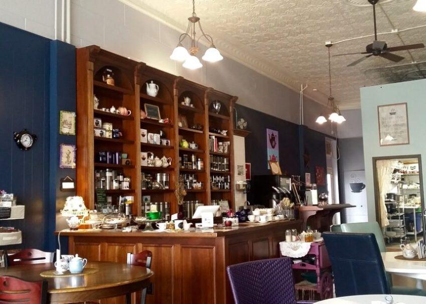 inside Curiosi-Tea House