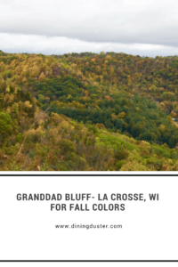 Spectacular fall views- Granddad Bluff La Crosse, WI