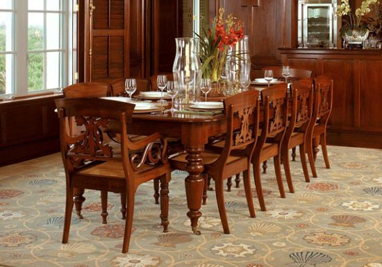 Royal Dining Room Table 8 Chairs