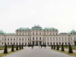 Museum in Vienna Belvedere