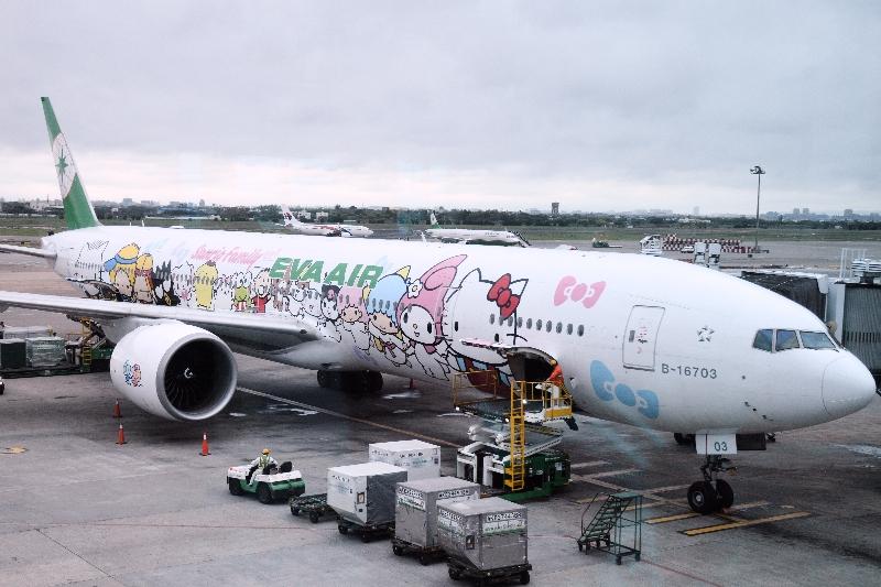 955349f99 My EVA Air Hello Kitty Plane Experience ⋆ The Dining Traveler