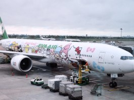 Hello Kitty Plane EVA Air