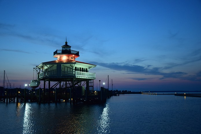 The Choptank Lighthouse