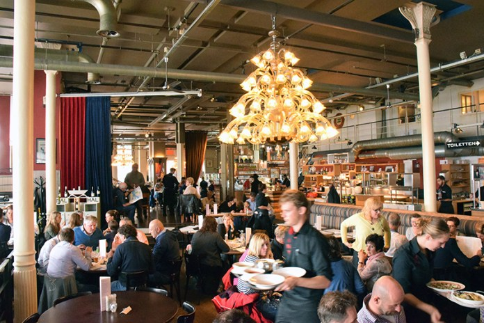 Dutch Owned Hotels in Rotterdam Travel Dining Tips: Interior at Hotel New York Restaurant