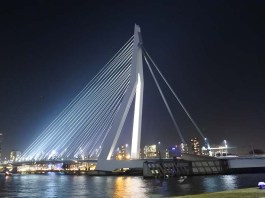 Weekend Trip to Rotterdam Architecture Erasmus Bridge