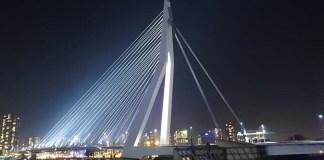 Weekend Trip to Rotterdam Architecture Erasmus Bridge