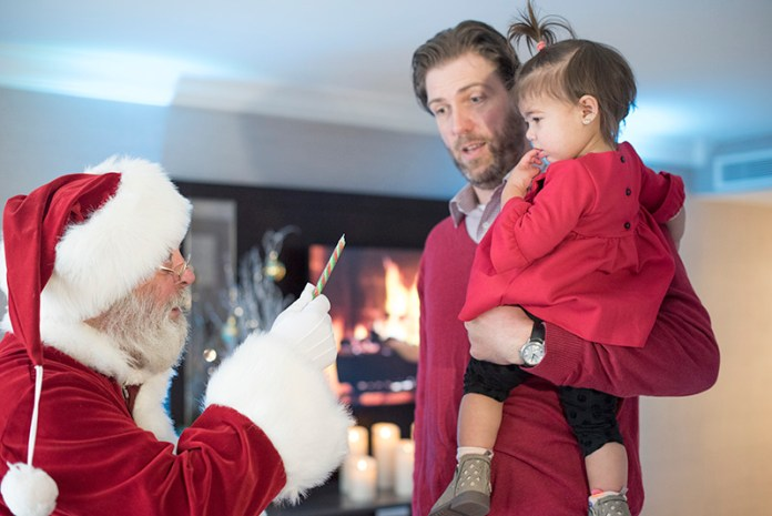 Fairmont DC Holiday Package Santa Suite