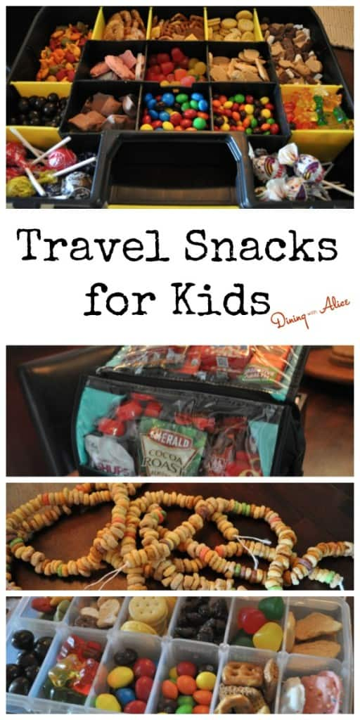 Travel Snacks For Kids Dining With Alice