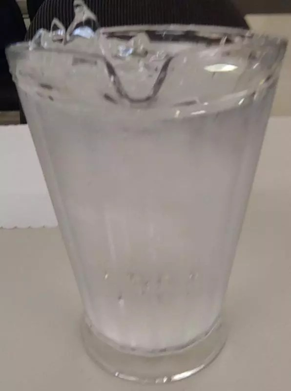 St Savjiours provides a jug of ice water for each table.