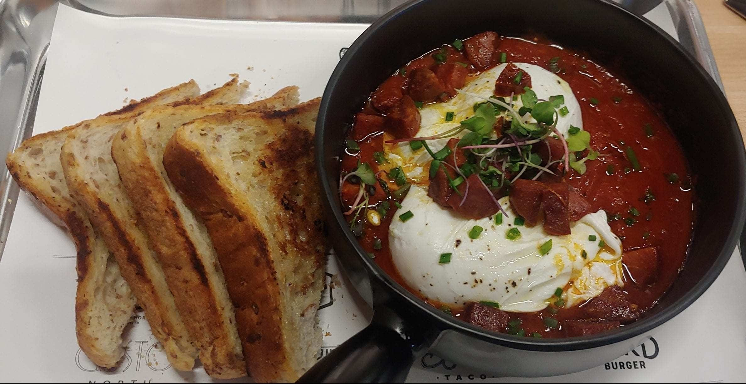 Hargrave Food Hall Shakshuka