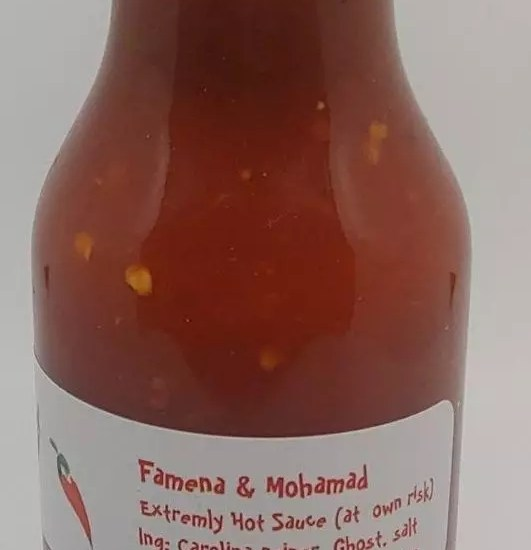 Winnipeg Hot Sauces Famenas
