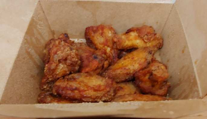 wings from The Merchant Kitchen