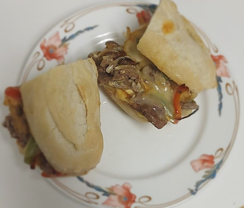 Sandwiches are Beautiful Philly Cheesesteak