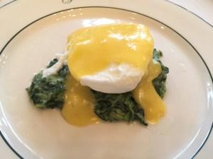 Egg sardou