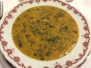 Farinata di cavolo: corn soup