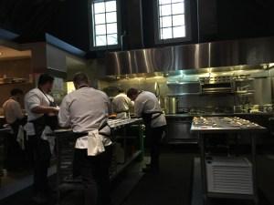 kitchen getting going