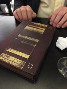 bill comes in a book box
