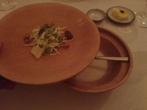bowl comes apart to serve together