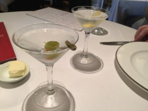 2 Martinis with lunch