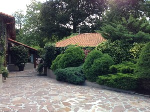 amazing grounds and gardens greet you at Mugaritz